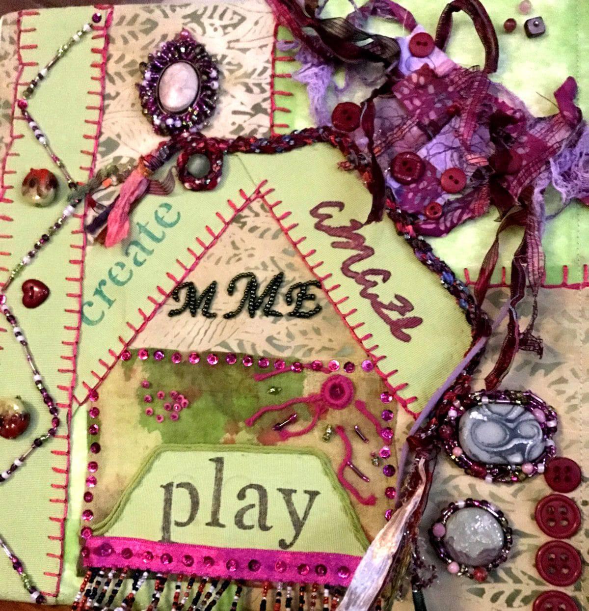 Last year's theme for Mary Ellen Beads Albuquerque was CAP - Create, Amaze, Play.