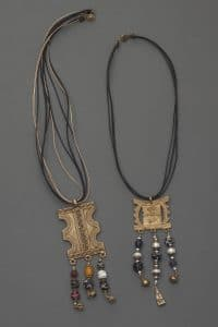 Charmed I and Charmed II are part of the Symbols and Treasures Collection from Mary Ellen Beads Albuquerque.