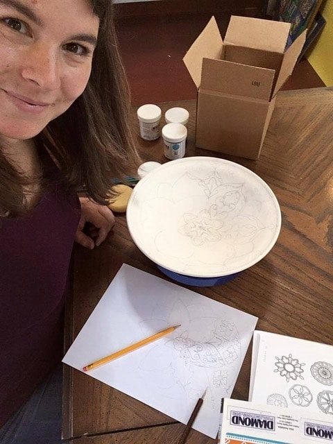 Ceramic artist Laura McIndoo talks creativity with Mary Ellen Beads Albuquerque